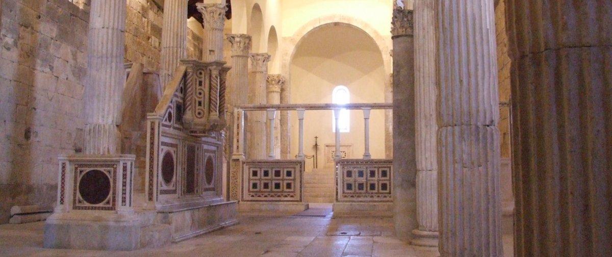 Alba Fucens: era tempio, ora è chiesa