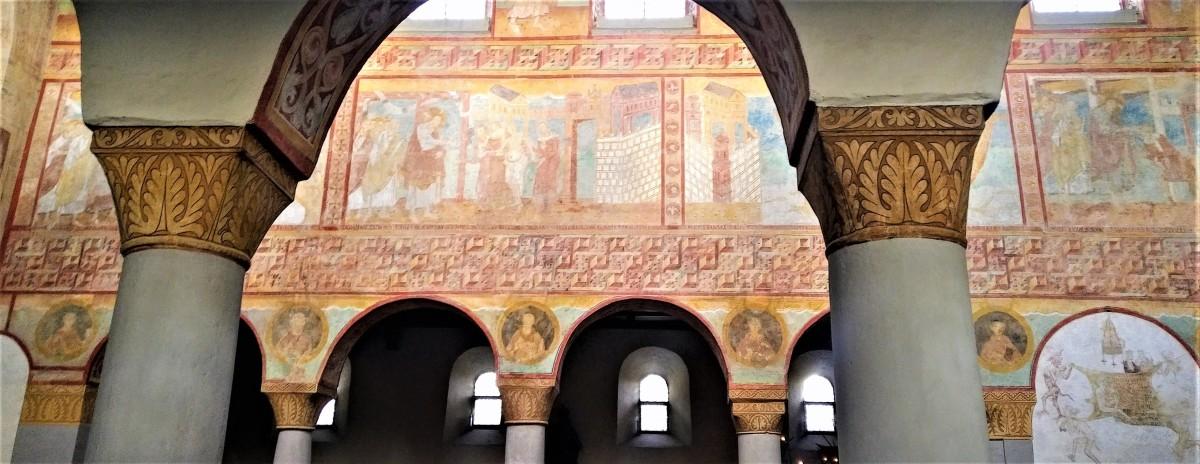 Oberzell: dialogano affreschi e paure