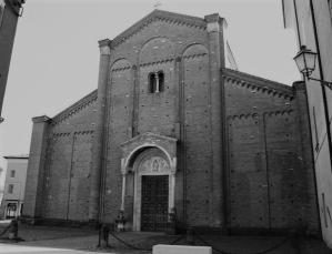 La facciata post-restauro
